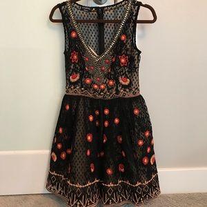 bebe beaded dress